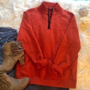 J. McLaughlin Rustic Cashmere Pullover Sweater